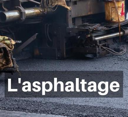 Béton et asphaltage